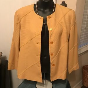 Mustard Colored Blazer